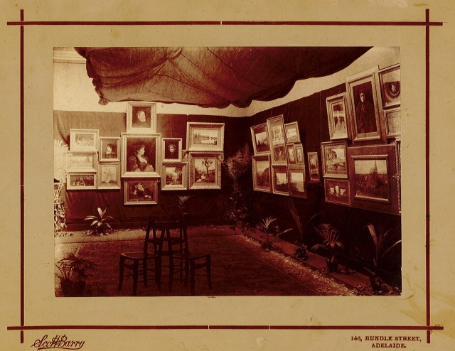 SA Society of Arts exhibition 1893